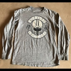 Nike long-sleeve football t-shirt, Youth Medium
